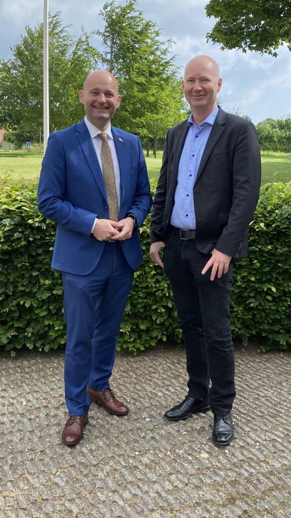 Søren Pape Poulsen og Lars Carstensen